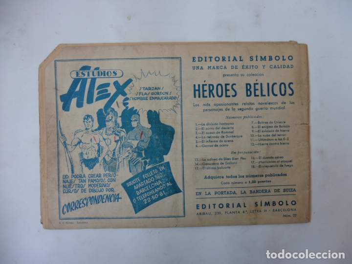 Tebeos: DISCO 16 CUADERNILLOS EDITORIAL SIMBOLO ORIGINAL - Foto 27 - 181028112
