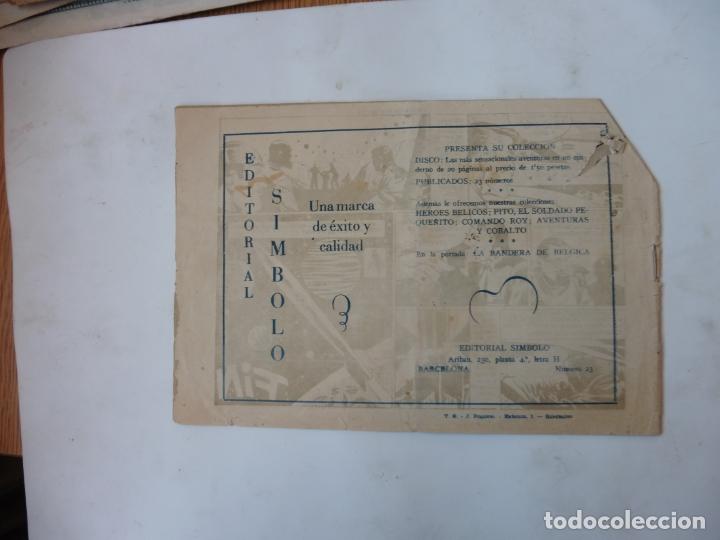 Tebeos: DISCO 16 CUADERNILLOS EDITORIAL SIMBOLO ORIGINAL - Foto 29 - 181028112