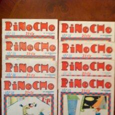 Tebeos: PINOCHO-REVISTA-CALLEJA-8 NÚMEROS 345-347-348-349-353-354-356-357(PENÚLTIMO)-1931-BUEN ESTADO. Lote 181154578