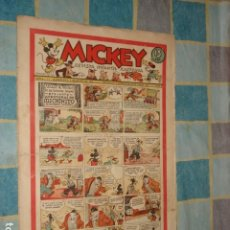 Tebeos: MICKEY 9, 1935, MOLINO, USADO. Lote 181319101