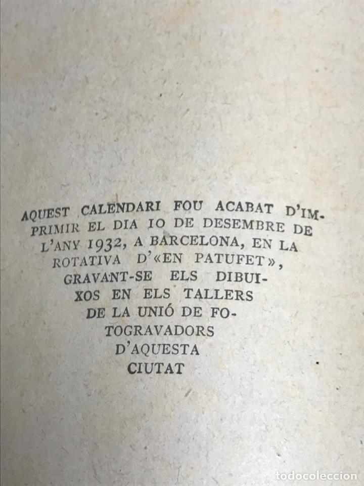 Tebeos: EN PATUFET.CALENDARI D'EN PATUFET. 1933-1934 - Foto 7 - 181946855