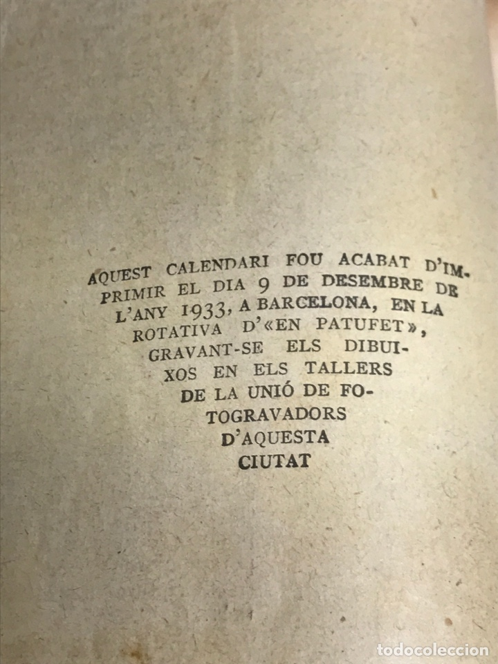 Tebeos: EN PATUFET.CALENDARI D'EN PATUFET. 1933-1934 - Foto 9 - 181946855