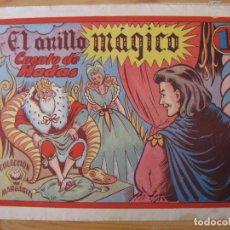 Tebeos: COLECCION MARGARITA - EL ANILLO MAGICO - FAVENCIA. Lote 181998146
