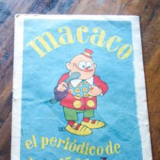 Tebeos: MACACO - 30 CTS. Lote 182197043