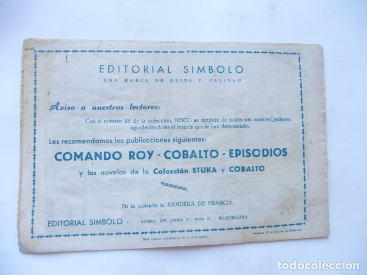 Tebeos: DISCO 16 CUADERNILLOS EDITORIAL SIMBOLO ORIGINAL - Foto 33 - 181028112