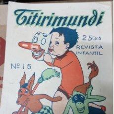 Tebeos: LOTE REVISTA INFANTIL TITIRIMUNDI. Lote 182387507