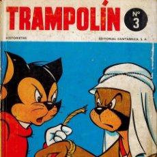 Tebeos: TRAMPOLÍN Nº 3.- EDITORIAL CANTÁBRICA 1966. TAPAS DURAS. RAROS.. Lote 182558807