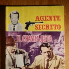Tebeos: TEBEO - COMIC - AGENTE SECRETO - Nº 7 EL CHANTAJISTA - FERMA 1966. Lote 182645725