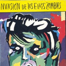 Tebeos: INVASIÓN DE LOS ELVIS ZOMBIES. GARY PANTER. ARREBATO, 1984. CON SINGLE PRECAMBRIAN BATH. Lote 182908455