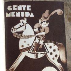 Tebeos: GENTE MENUDA, SUPLEMENTO INFANTIL DE BLANCO Y NEGRO. Lote 182983596