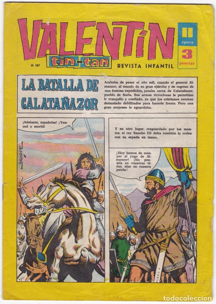 VALENTIN TIN TAN - Nº 187 - AÑO 1964 MADRID (Tebeos y Comics - Tebeos Otras Editoriales Clásicas)