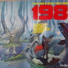 Tebeos: - POSTER - 1984 , EL MEJOR COMIC DE FANTASIA - Y VAMPIRELLA 1984 -. Lote 183663908