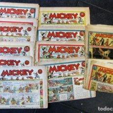 Tebeos: LOTE 10 REVISTAS MICKEY 1ERA EDICION . AÑO 1935 -1936 WALT DISNEY . Lote 183822260