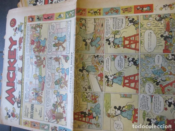 Tebeos: lote 10 revistas mickey 1era edicion . año 1935 -1936 walt disney - Foto 2 - 183822260