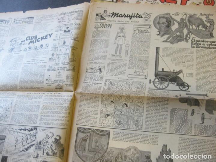 Tebeos: lote 10 revistas mickey 1era edicion . año 1935 -1936 walt disney - Foto 3 - 183822260