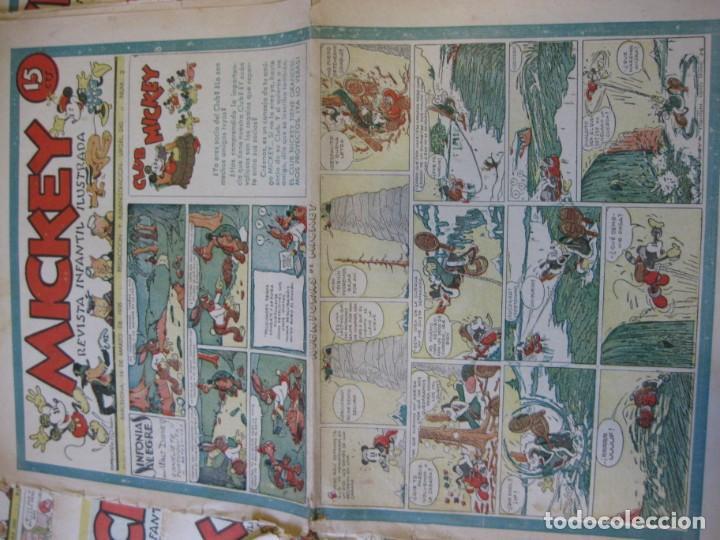 Tebeos: lote 10 revistas mickey 1era edicion . año 1935 -1936 walt disney - Foto 6 - 183822260