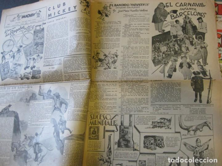 Tebeos: lote 10 revistas mickey 1era edicion . año 1935 -1936 walt disney - Foto 7 - 183822260