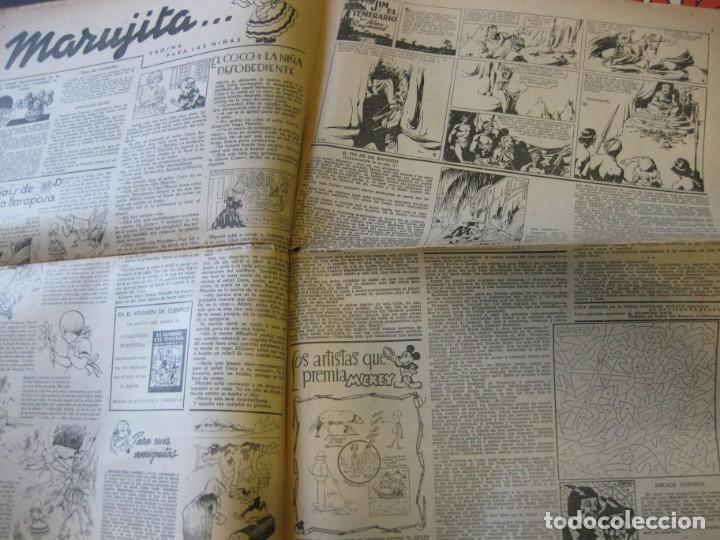 Tebeos: lote 10 revistas mickey 1era edicion . año 1935 -1936 walt disney - Foto 9 - 183822260
