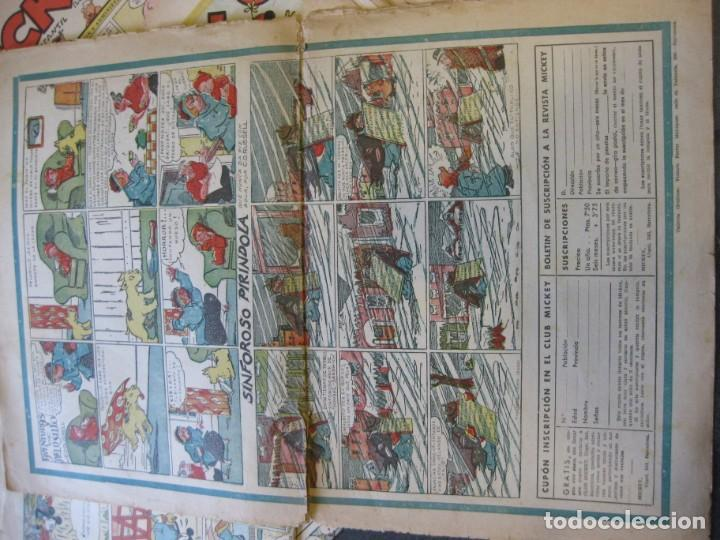 Tebeos: lote 10 revistas mickey 1era edicion . año 1935 -1936 walt disney - Foto 10 - 183822260
