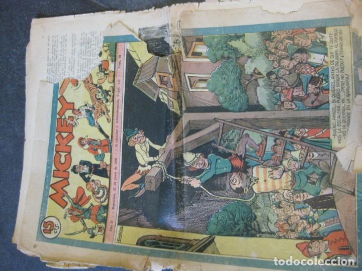 Tebeos: lote 10 revistas mickey 1era edicion . año 1935 -1936 walt disney - Foto 11 - 183822260