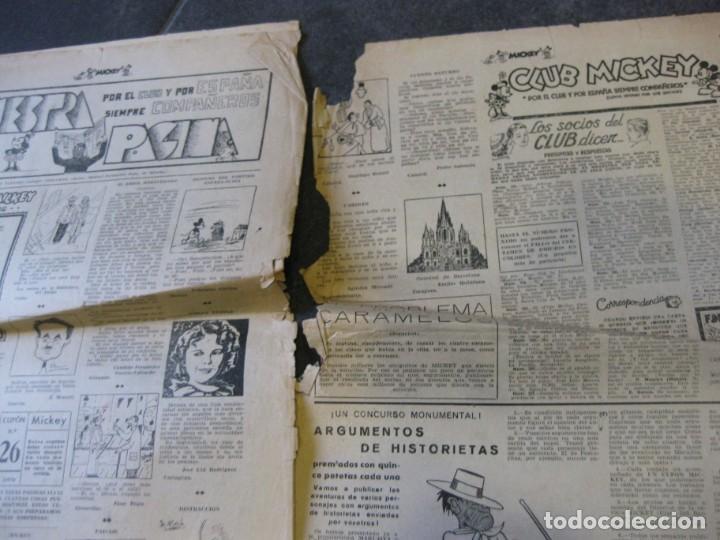 Tebeos: lote 10 revistas mickey 1era edicion . año 1935 -1936 walt disney - Foto 15 - 183822260