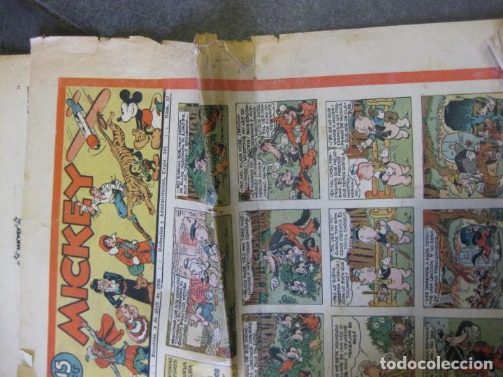 Tebeos: lote 10 revistas mickey 1era edicion . año 1935 -1936 walt disney - Foto 17 - 183822260