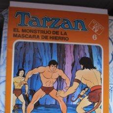 Tebeos: TARZÁN Nº 6 EL MONSTRUO DE LA MÁSCARA DE HIERRO Nº 6 FHER 1979.. Lote 184442110