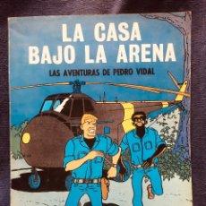 Tebeos: LAS AVENTURAS DE PEDRO VIDAL LA CASA BAJO LA ARENA 1969 OIKOS-TAU PRIMERA EDICION. Lote 184448908
