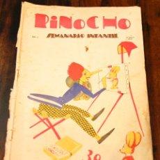 Tebeos: PINOCHO - NUM 8 - EDITORIAL CALLEJA - 1925 - AÑO I - 30 CTS. Lote 184625746