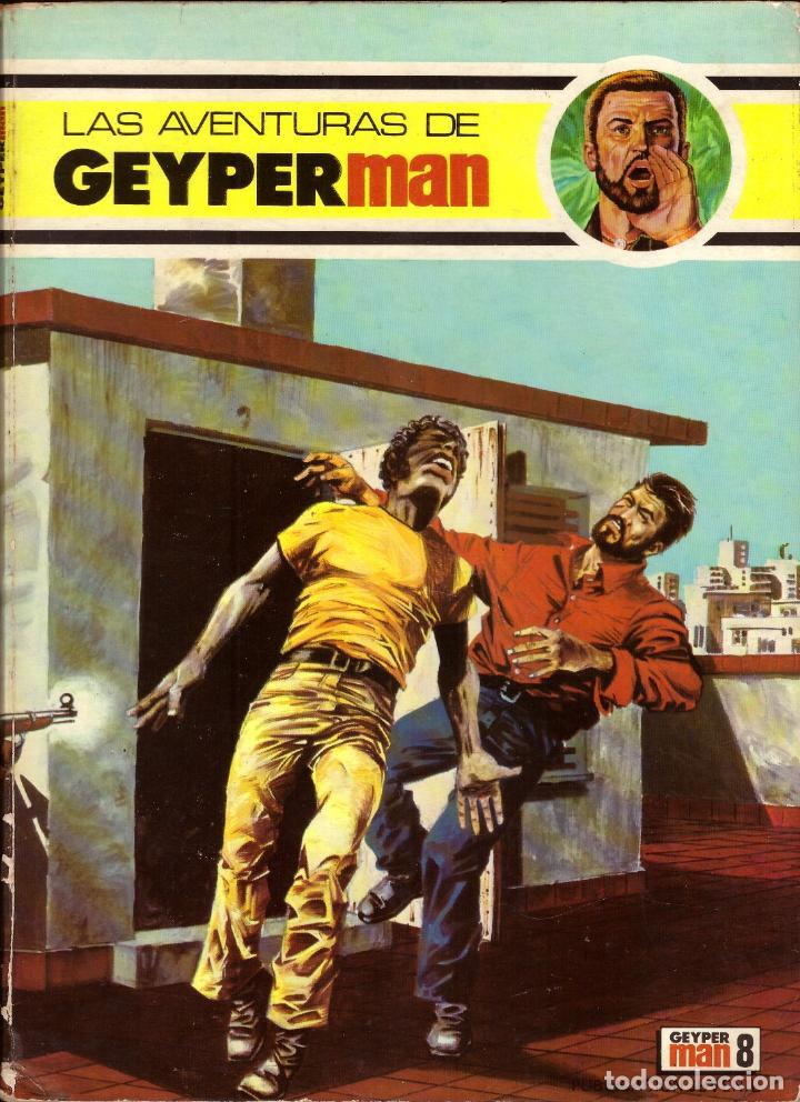 COMIC LAS AVENTURAS DE GEYPERMAN, Nº 8; EDICIONES RECREATIVAS (Tebeos y Comics - Tebeos Otras Editoriales Clásicas)