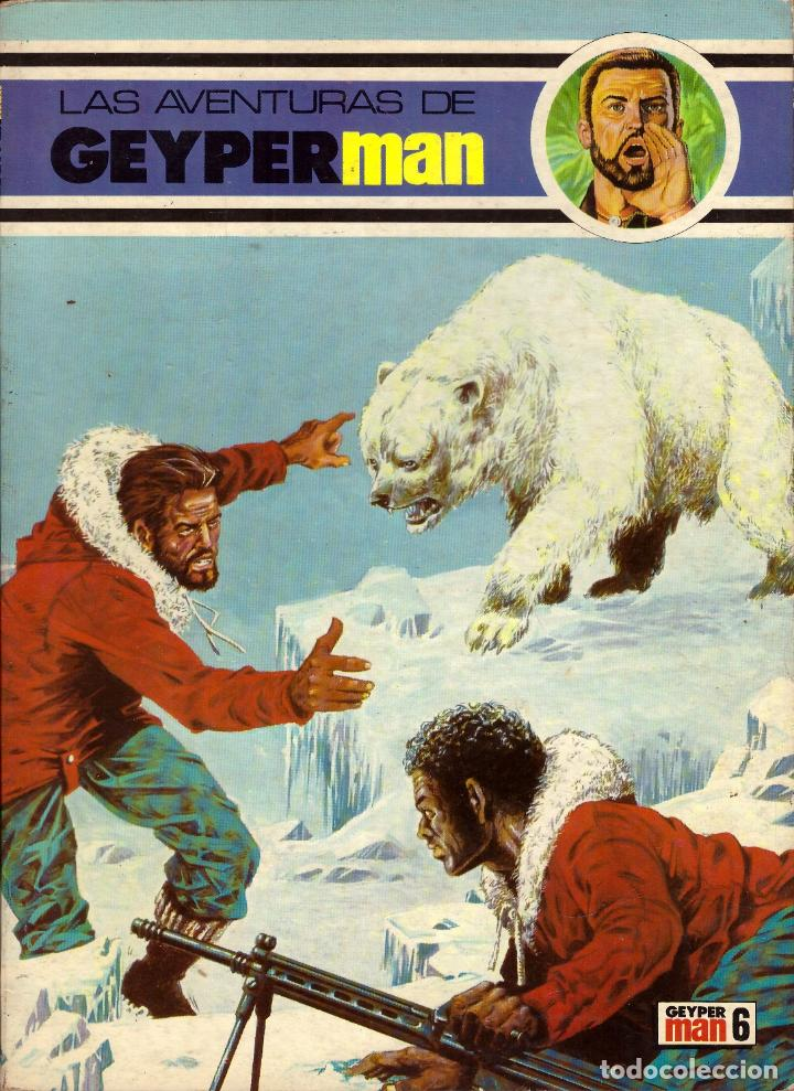 COMIC LAS AVENTURAS DE GEYPERMAN, Nº 6; EDICIONES RECREATIVAS (Tebeos y Comics - Tebeos Otras Editoriales Clásicas)