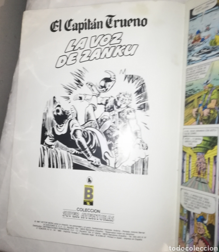 Tebeos: El Capitán Trueno Nº 9, La voz de Zanku - Foto 5 - 186276356