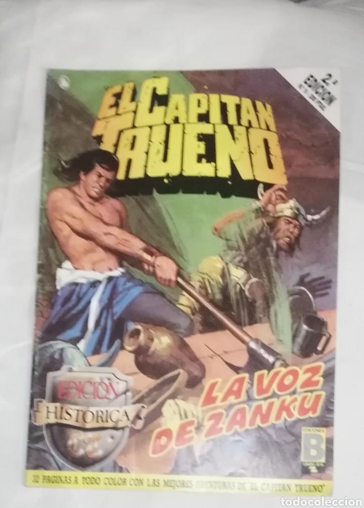 EL CAPITÁN TRUENO Nº 9, LA VOZ DE ZANKU (Tebeos y Comics - Tebeos Clásicos (Hasta 1.939))