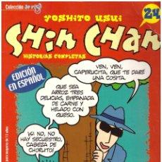 Tebeos: COMIC SHIN CHAN, Nº 24 - COMIC LEO O'PARDO: RETAPADO CON LOS NUMEROS 6, 7, 8 9 Y 10 - OFERTAS DOCABO. Lote 186277141