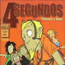 Tebeos: COMIC 4 SEGUNDOS, Nº 1 - FELICIANO Y ALEJO - OFERTAS DOCABO. Lote 186277247