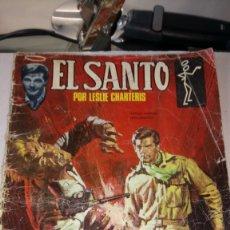 Tebeos: CÓMIC DE EL SANTO. LESLIE CHARTERIS. EDITORIAL SEMIC. PVP 8 PESETAS. AÑO 1966.. Lote 186285815