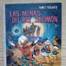 Tebeos: LAS MINAS DEL REY SALOMON - COLECCION DUMBO 1 - SALVAT - TAPA DURA. Lote 186313070