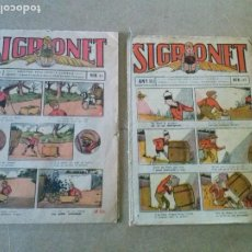 Tebeos: SIGRONET - Nº 61 -GATO NEGRO -T - 1924. Lote 186314190