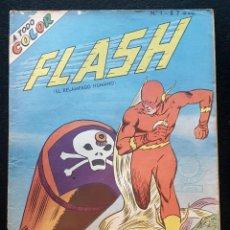 Tebeos: FLASH EL RELAMPAGO HUMANO Nº 1. MUCHNIK EDITORES 1960. Lote 186329875