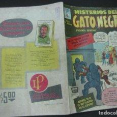Tebeos: MISTERIOS DEL GATO NEGRO Nº 94. JULIO DE 1959. EDITORA DE PERIODICOS LA PRENSA MEXICO.. Lote 187163135