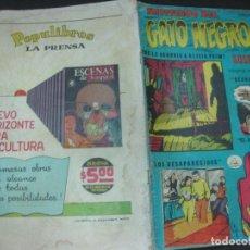 Tebeos: MISTERIOS DEL GATO NEGRO Nº 64. ABRIL DE 1958. EDITORA DE PERIODICOS LA PRENSA MEXICO.. Lote 187163357