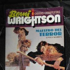 Tebeos: BERNI WRIGHTSON 1 OBRAS COMPLETAS MAESTRO DEL TERROR ( EPOCA WARREN ). Lote 187193492