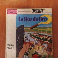 Tebeos: ASTÉRIX,LA HOZ DE ORO,COLECCIÓN PILOTO,1966. Lote 187300798