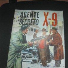 Tebeos: AGENTE SECRETO X-9 Nº 3. EDITORIAL LORD COCHRANE SANTIAGO . CHILE. . Lote 187410220