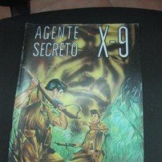Tebeos: AGENTE SECRETO X-9 Nº 9. EDITORIAL LORD COCHRANE SANTIAGO . CHILE. . Lote 187410287