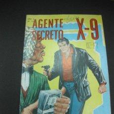 Tebeos: AGENTE SECRETO X-9 Nº12. EDITORIAL LORD COCHRANE SANTIAGO . CHILE. . Lote 187410338