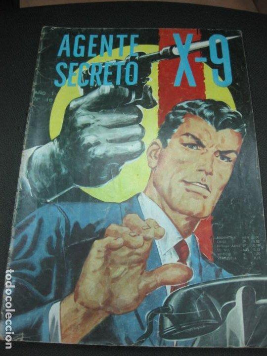 AGENTE SECRETO X-9 Nº10. EDITORIAL LORD COCHRANE SANTIAGO . CHILE. (Tebeos y Comics - Tebeos Otras Editoriales Clásicas)