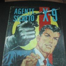 Tebeos: AGENTE SECRETO X-9 Nº10. EDITORIAL LORD COCHRANE SANTIAGO . CHILE. . Lote 187410383