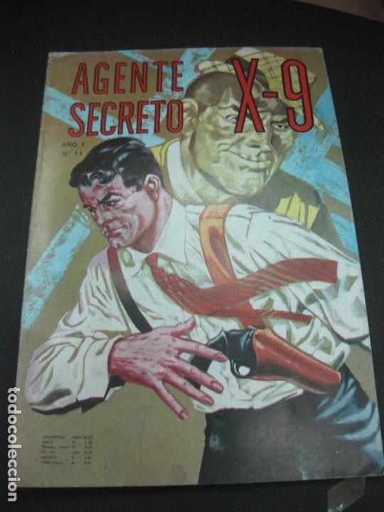AGENTE SECRETO X-9 Nº11. EDITORIAL LORD COCHRANE SANTIAGO . CHILE. (Tebeos y Comics - Tebeos Otras Editoriales Clásicas)