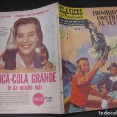 Tebeos: CLASICOS ILUSTRADOS Nº 94. HOMBRES CONTRA EL MAR. EDITORA DE PERIODICOS. LA PRENSA. 1960. Lote 187412203